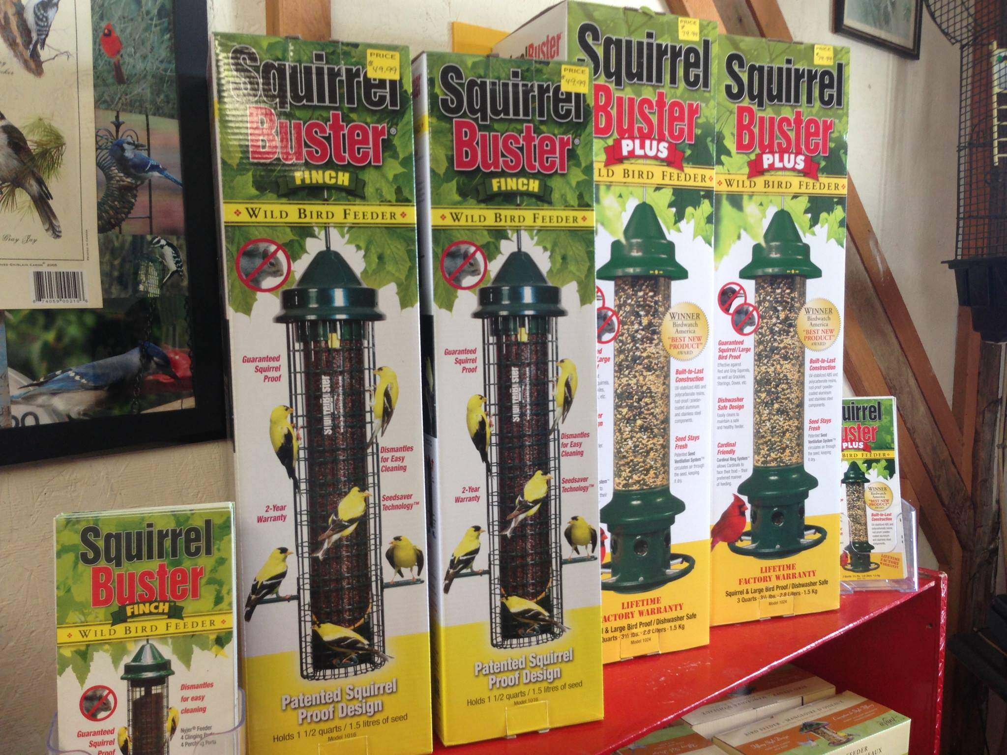 Squirrel Buster- Wild Bird Feeders by Brome