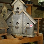 Hand crafted wooden nesting box